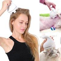 جيد صحي القط الكهربائية رئيس مدلك التلقائي الحيوانات الأليفة خدش مخلب USB شحن massager1