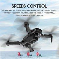 Высокое качество E525 мини Дрон 4K HD широкоугольный двойной камеры 1080P WiFi визуальное позиционирование высота Держал RC Drone Следите за мной RC Quadcopter