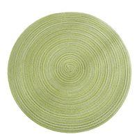 Isolamento ramie anti-slip placemat fatto a mano tessuto multi colori circolare tavola tazza tazza tazza vaso ciotola piastra pad vendita calda 4 3dy l2