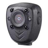 شحن مجاني 1920x1080p مسجل الفيديو المحمولة مع IR للرؤية الليلية للشرطة 1080P مصغرة كاميرا DV