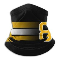 Bufandas Pasternak Bufanda Bandana Diadema Cálculo al aire libre Calentador Mascarilla Cara Boston Bruins Bergeron Chara Marchand Black and Gold