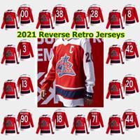 콜럼버스 블루 자켓 2021 Reverse Retro Hockey Jerseys Seth Jones Cam Atkinson Elvis Merzlikins Nick Foligno Zach Werenski 사용자 정의 스티치