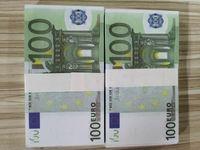 Sıcak Altın Kopya Euro Sahte Para Satışı Banknot 10/20/5 Kağıt / 100/200/500 Euro Prop Banknot Fiyat Banknote-121 Bojcx