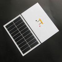 BUHESHUI 6W 10V ETFE Panel Solar Semi-flexível DIY Painel Solar Carregador de Bateria Sunpower Frete Grátis