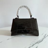 نسخة ترقية نسخة مصمم المرأة حقائب الكتف حقيبة crossbody حمل محفظة جودة عالية جلد طبيعي التمساح البشرة الفاخرة