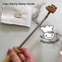 3cm personalizado logotipo de couro de couro de cobre bronze papel de madeira pão bolo morrem aquecimento letra de molde letra letra metal marca pele pele