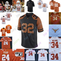 Texas Longhorns Football Jersey NCAA College Jake Smith Colt McCoy Earl Campbell Connor Williams Thomas Orakpo Goodwin Huff Griffin Ross