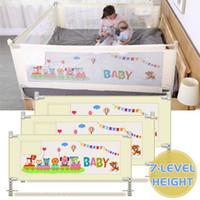 طفل روضة السلامة على السرير القضبان ل عبي الأطفال الأسوار السياج الطفل سلامة بوابة حاجز سرير الأسرة للأطفال للأطفال حديثي الولادة قابل للتعديل