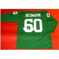 123 # 60 chuck bednarik özel 3/4 kollu kolej forması boyutu S-4XL veya özel herhangi bir isim veya numara forma