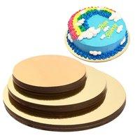 Placas de bolo conjunto de 18 bases de círculo de bolo 6 polegadas, 8 polegadas e 10 polegadas 6 de cada Y200612