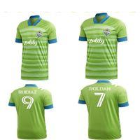 Qualidade superior 2021FC Seattle Sounders Jersey 20 21 Home Away Adulto Dempsey Lodeiro Ruidiaz Camisas de futebol