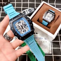 Mode Männer Designer Uhren Top Marke Rubbergurt Quarz Armbanduhren Big Bang Uhr für Mens Valentine Geschenk Orologio di Lusso Großhandel