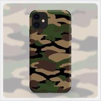أزياء الجيش الأخضر التمويه حالة الهاتف لتفاح iphone12promax غطاء الهاتف أعلى جودة لفون 6/7/8/11/12 XS PROMAX MINI