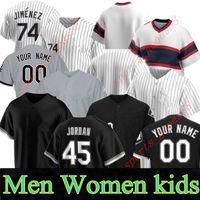 Custom Neuf 20 21 Hommes Femmes Jeunesse Majesticide Blanc Jose Jose Abreu Eloy Jimenez Yoan Moncada James McCann James McCann Leury Garcia Jersey