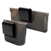 Многофункциональный телефон держатель автомобилей организатор дверной боковой висит карманный органайзер