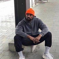 Tissu lourde Couleur solide Kanye West Saison 6 Zip Sweat à capuche Hommes Femmes 1: 1 La meilleure qualité Casual Loose Grey Sweatshirts