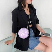 솔리드 컬러와 새로운 패션 작은 라운드 볼 가방 체인 크로스 바디 가방