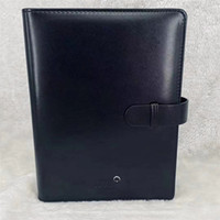 Lüks Marka Deri Kapak Notepads Gündem El Yapımı Not Kitabı Klasik Dizüstü Periyodik Günlüğü Gelişmiş Tasarım İş Hediyeler