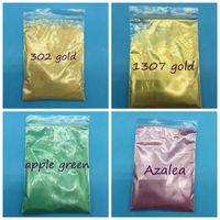 10G İnci Pigment, Mika Tozu Akrilik Boya Renk Inci Toz Metalik Boya Flaş Tozu Tırnak Glitter Için 1lot = 1 Renk = 10g
