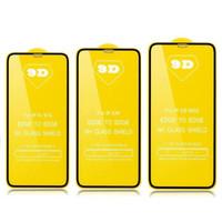 Protector de pantalla de vidrio templado 9D de cubierta completa para Samsung Galaxy M10 M30 M50 S10E A9 PRO A10E A20E A11 A21 A31 A51 A71 A81 A91 M11