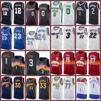 2020 2021 New Basketball Jersey Goldener ZustandKriegerBostonKeltenLosAngelesLA.Clipper Lebron 23 James