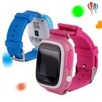 GPS Q90 Pantalla táctil WiFi Posicionamiento Smart Watch Niños SOS Llamada Localización Finder dispositivo Tracker Kid Safe Anti Redi Monitor