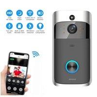New M3 Vídeo campainha sem fio WIFI remoto Intercom detecção electrónica Home Security HD Visible Monitor de Visão Noturna interfone