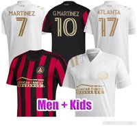 Top Thai-Qualität 19 20 21 Atlanta United Fussball Jersey 2020 2021 Garza Jones Villalba Mccann Martinez Almiron FC Atlanta Football Shirt
