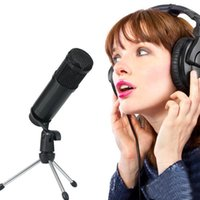 Microfone USB PC Condensador Vocais de microfone Gravação para o YouTube Video Skype Chatting Game Podcast w / Tripod1