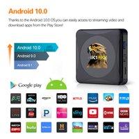 صندوق التلفزيون الذكي الروبوت 10.0 HK1 RBOX MINI 4GB 64GB Android 10 TVBox 2.4G / 5G Wifi USB3.0 4K Media Player