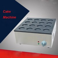 1 ADET FY-2233A Elektrikli Alüminyum Plaka 110 V / 220 V 16 Delik Katmanı Kek Makinesi Kırmızı Fasulye Kek Maker Hamburg Maker1