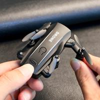 RC Drone Uçak Mini Selfie Kamera HD 1080 P Quadcopter Wifi FPV Dron Katlanabilir İrtifa Tutun Helikopter Drones Profesyonel Oyuncak