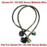 2 STÜCKE D1S D1R D1C D3S D3R D3C HID Xenon Scheinwerferlampen Vorschaltgeräte Kabelbaum Kabel Adapter Halter Kabel Verkabelung Sockel Stecker N Abspielen1