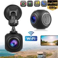 MINI CAMERAS WIFI CAR DASH CAM CAM FHD 1080P Cámara GPS Dashboard W / G-Sensor Visión nocturna Camcorder Actie Video DV Portátil