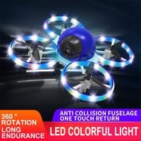 2021 мини вертолет ufo rc 1080p hd камеры беспилотница infraed рука ощущение воздушного судна светодиодный светильник высота Quadcopter flayaball маленькие дроны игрушек