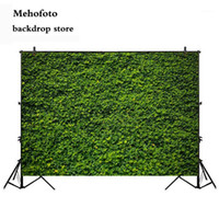 Mehofoto 봄 녹색 벽 사진 배경 녹색 잔디 사진 부스 배경 부활절 일요일 파티 장식 용품 3171