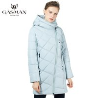 Gazman yeni kış kadın ceket aşağı kadın moda ceket kapşonlu sıcak parkas kış giyim kadınlar yüksek kalite 18806 201126