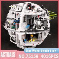 Star Plan Série 05063 4016PCS Morte Estrela Força Waken Kit UCS Kit Building Block Tijolos 05035 Brinquedos Educativos Presentes de Aniversário Kid J1204