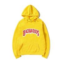 Vida ipliği manşet hoodies streetwear backwoods hoodie kazak erkekler moda sonbahar kış hip hop hoodie kazak hoody Q1222