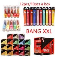 Bang XXL Dispositivo di pod monouso XXL 2000Puffs 12 / 10pcs 6ml Kit Kit VAPE Stick Pen Portatile Mini sistema di vapore 18 opzioni