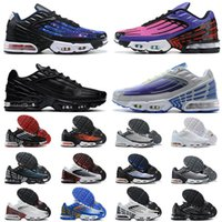 2021 New Tn Plus 3 III Laser Blue Crimson Red Mens Women Outdoor Shoes ALL White Deep Royal Topaz fashion Trainers Sneakers shoe