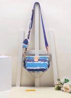 Nuevo estilo bolsas de cintura bolsa de la bolsa suave bolsa de excavación horizontal tipo cuadrado europeo y americano de la moda de las señoras del hombro bolsa de mensajero