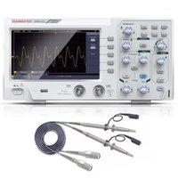 DOS1102 Best Digital Osciloscope 100MHZ 2 Oscilógrafo 1GSA / S 7 '' TFT LCD mejor que ADS1102CAL + Osciloscope Kit1