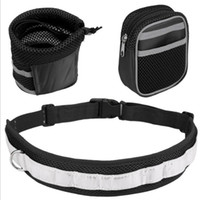 Pet Köpek Tasma Eller Ücretsiz Çekiş Emniyet Kemeri Ayarlanabilir Çekiş Tasma Açık Spor Yürüyüş Koşu Köpek Evcil Halat GGC4555