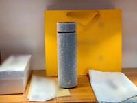 블링 럭셔리 절연 물병 페르시 디자이너 물병 고품질 스테인레스 스틸 텀블러 상자 보온병