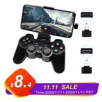 게임 컨트롤러 조이스틱 Android 휴대 전화 / PC / PS3 / TV 박스 / 노트북 2.4g Joypad 컨트롤러 스마트 폰 게이머 USB C