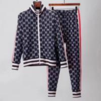 Gucci sportswear hermosa hombres chaquetas para hombres casual ropa deportiva sudaderas se adapta a las suites de la moda de los trajes de desgaste casual de los hombres M-3XL