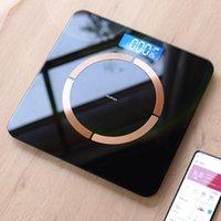 Digital Smart Body Peso Escala Eletrônica Corpo Fat Banheiro Bluetooth Pesando para Analisador BMI Balance1