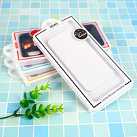 Simple Pull PVC Packaging Custom Mobile Phone Shell Blister Packaging Box Transparent Clear Display Box for Iphone XS Max Case