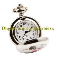 2021 Novo estilo mulheres relógio de bolso relógio colar acessórios camisola cadeia senhoras penduradas relógios de pulso mil espelho relógios AA00102